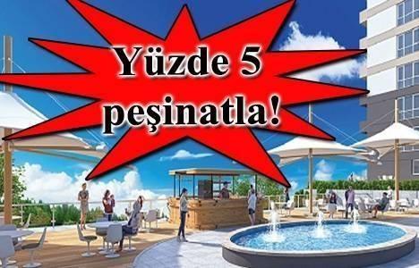 Sinan Gayrimenkul Sky Bahçeşehir'de 2+1 evler 380 bin lira!