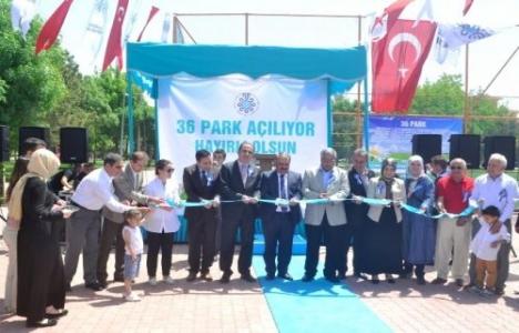 Konya Selçuklu'da 36 park açıldı!