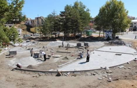 Afşin Kent Meydanı çalışmaları devam ediyor!