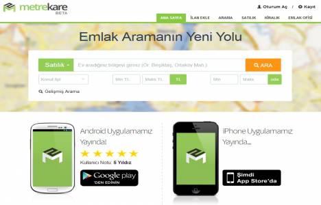 Metrekare.com yayın hayatına başladı!
