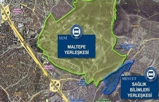 Marmara Üniversitesi Maltepe Kampüsü imar planı değişikliği askıya çıktı!