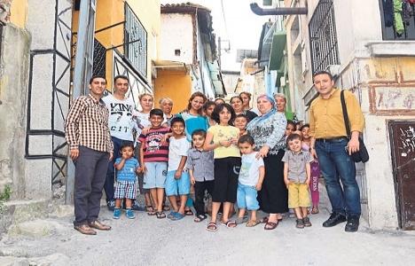 İzmir'in Sakarya Mahallesi'ndeki