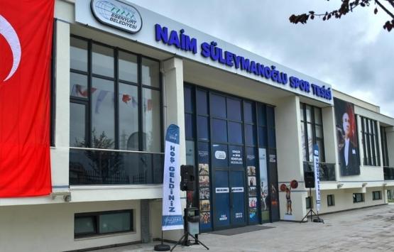 Esenyurt'ta Naim Süleymanoğlu Spor Tesisi açıldı!
