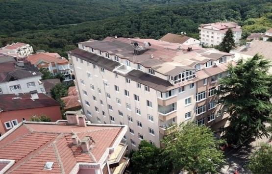 Sarıyer'de 9 katlı bina boşaltıldı!