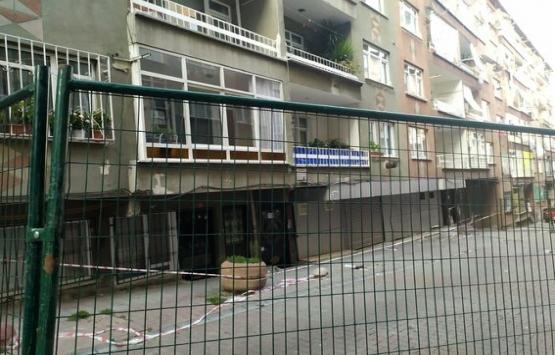 Bağcılar'da 2 bina boşaltıldı!
