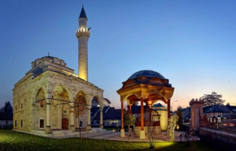 Bosna Hersek Foça Hünkar Camii ibadete açıldı!