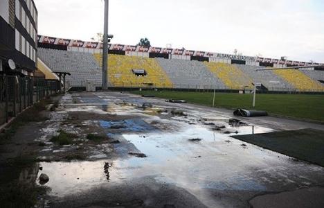 Alsancak Stadyumu'nun hali