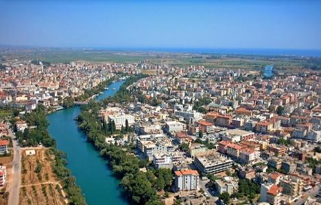 Antalya'ya gelen turist