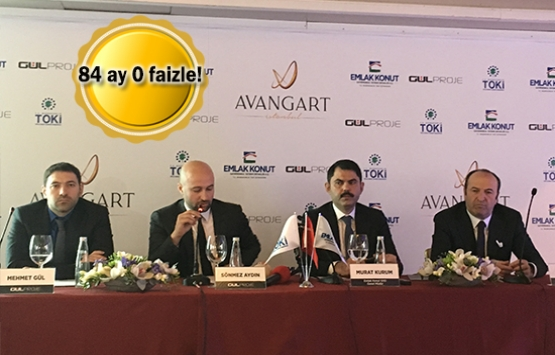 Avangart İstanbul'un lansmanı yapıldı! 504 bin TL'ye!