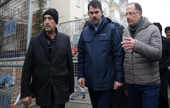 Murat Kurum Elazığ'daki TOKİ konutlarını inceledi!