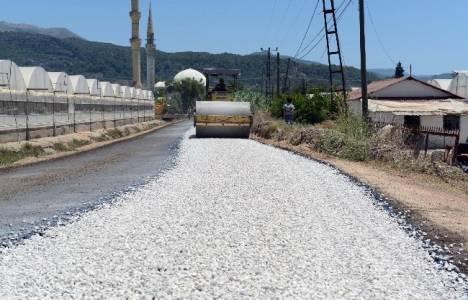 Antalya Kaş ve Kumluca'da asfalt çalışmaları başladı!