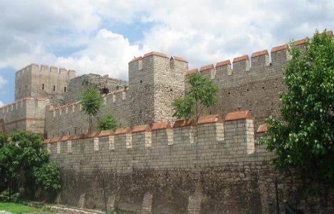 Edirnekapı-Yedikule'deki surlar restore