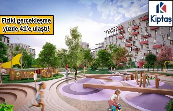 KİPTAŞ Silivri 4. Etap Konutları'nın inşaat çalışmalarında son durum!