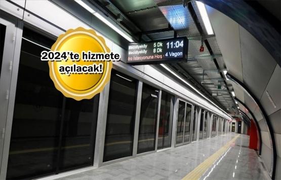 Mahmutbey-Esenyurt Metrosu'nda çalışmalar başladı!