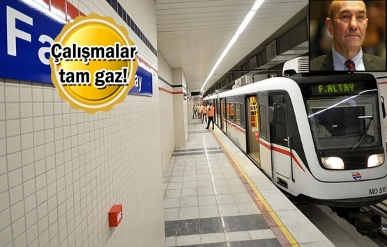 İzmir'de yapımı süren raylı sistem projelerinde son durum ne?