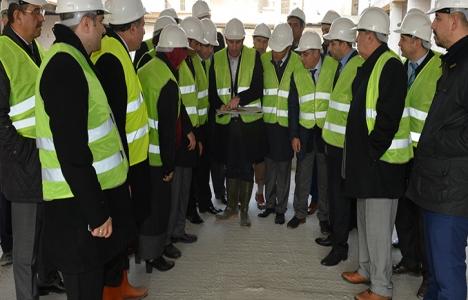 Üsküdar Belediye Hizmet Binası'nın kaba inşaatı tamamlandı!