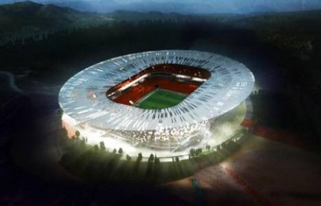 Adana'daki yeni stadın inşaatı başladı!