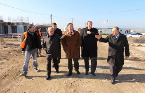 Manisa Koşmaz Fen Lisesi'nin inşaatında sona gelindi!