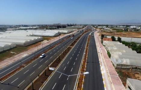Antalya Altınova karayolu hizmete açıldı!