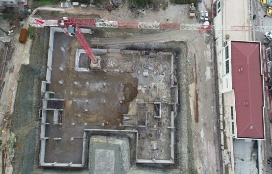 Kandıra Belediyesi yeni hizmet binasının inşaatı tam gaz!