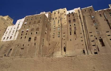Dünyanın ilk gökdelenleri Yemen'de inşa edildi!