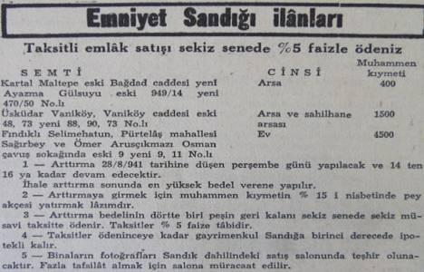 1941 yılında Vaniköy'de