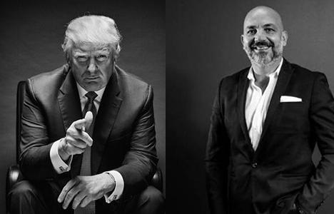 Mükemmel Sarımsakçı, Trump