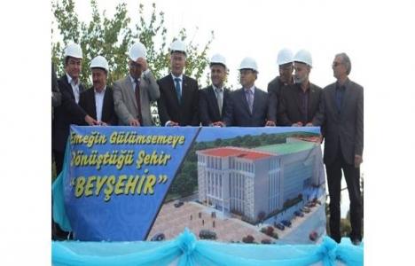 Beyşehir Kültür ve Yaşam Merkezi'nin temeli atıldı!