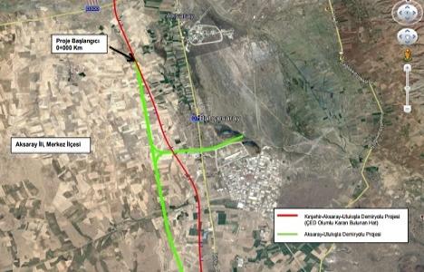 Aksaray-Ulukışla Demiryolu projesi