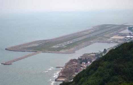 Ordu-Giresun Havalimanı Gülyalı'nın