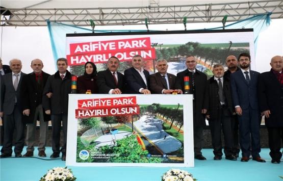 Sakarya Arifiye Park'ın temeli atıldı!
