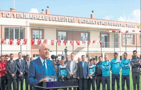 Ankara'daki Batıkent Stadı