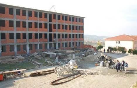 Balıkesir Sındırgı MYO ek bina inşaatı devam ediyor!