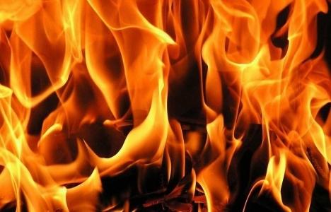 Aydın'da ev yangını: