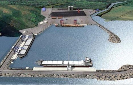 Filyos Limanı'nın altyapı