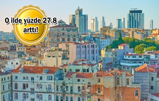Türkiye'den 3 şehir konut fiyat artışında dünyayı solladı!
