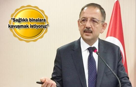 Mehmet Özhaseki'den deprem