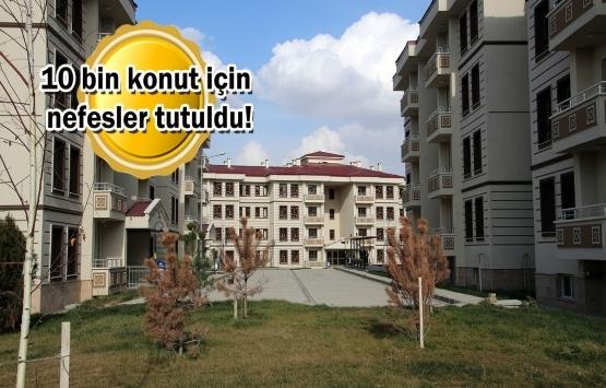 TOKİ İstanbul 2020 kura çekilişleri yarın başlıyor!