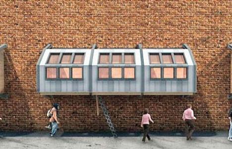 İşte İngiltere'de evsizler için tasarlanan cumpa evler!