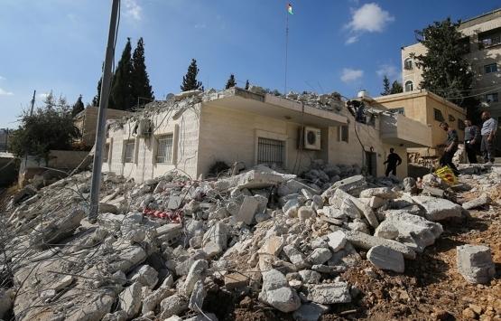 Filistinliler kendi topraklarında inşaat izni alamıyor!