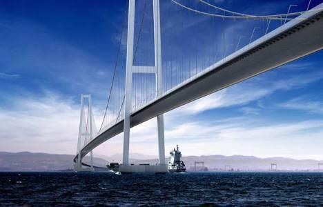 İzmit Körfez Geçiş Köprüsü 2015 yılına kadar tamamlanacak!