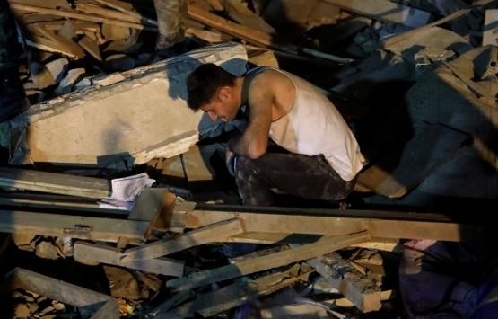 Ermenistan Gence'yi vurdu: 40'tan fazla ev yıkıldı!