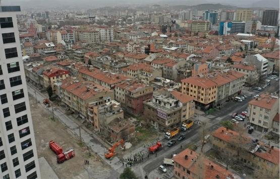 Kayseri Sahabiye'de kentsel dönüşüm projesi için yıkımlar başladı!