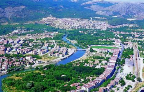 Amasya'da dolu yağışı
