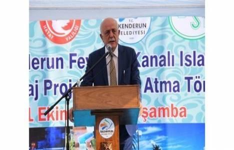 Feyezan Kanalı ve Peyzaj Projesi'nin temel atma töreni gerçekleşti!