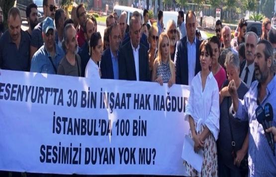 Konut mağdurlarının meclisten