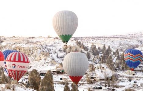 Kapadokya'daki balonlar ekonomiye