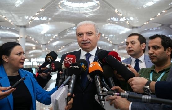 Mevlüt Uysal: İstanbul Havalimanı'na taşınma sürecinde anlayış bekliyoruz!