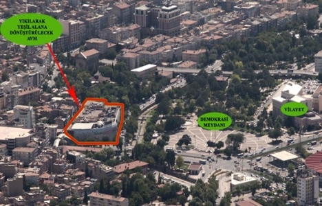 Gaziantep'te AVM yıkılıp park yapılacak!