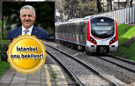 Ahmet Arslan, Halkalı-Gebze Banliyö Hattı'ndaki son durumu açıkladı!